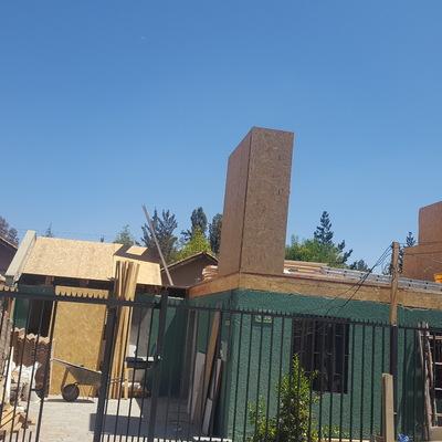 inicios de ampliacion 2do piso con paneles sip