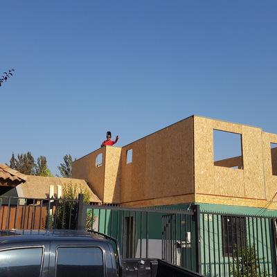 construccion 2do piso con paneles sip