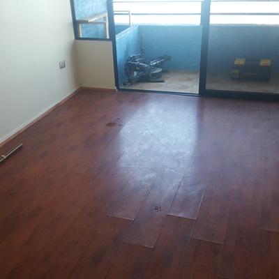 Trabajo cambio piso flotante