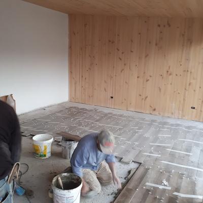 Construction de casa