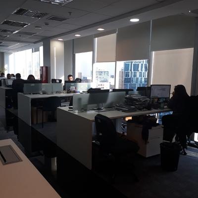 estaciones de trabajo en grupo