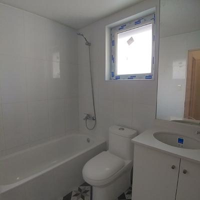 Baño principal, remodelacion casa Las Condes