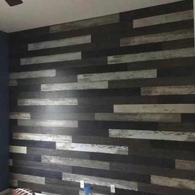 enchape madera en muros