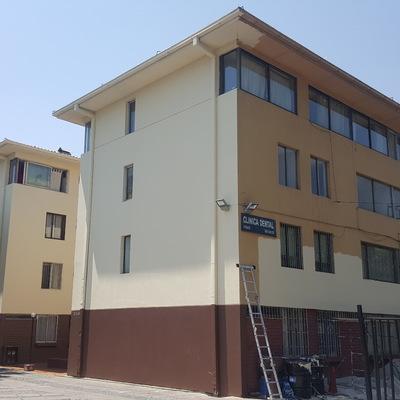 Pintura de fachada en Peñalolén 2