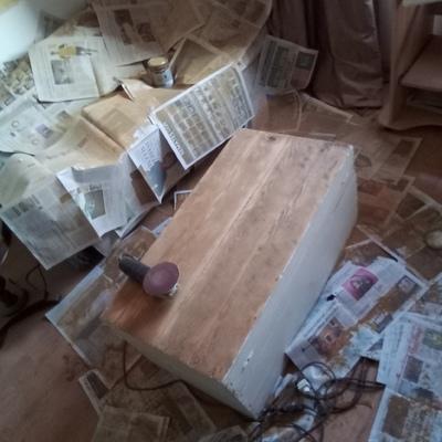 Restauración  de Baul