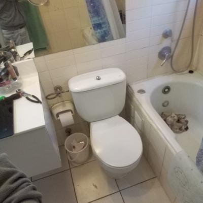 Instalación de wc