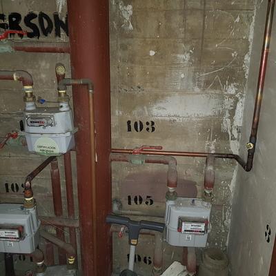 Red desde un Medidor de gas Natural