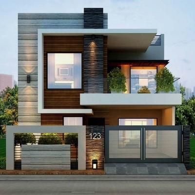Casa moderna  mediterráneo
