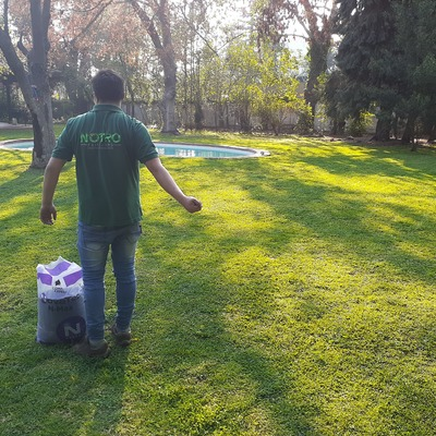 Incorporación de fertilizante