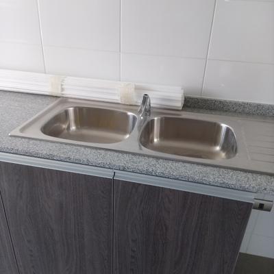 Encimera lavaplatos