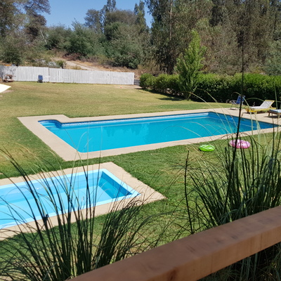 Piscina Parcela El Estero, Lago Rapel