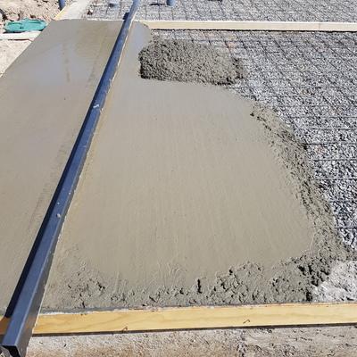 Construcción radier