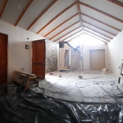 trabajo remodelacion ubicado en mantagua