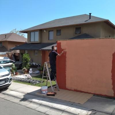 Pintura exterior casa