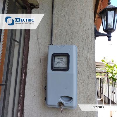 Recambio de protección termomagnética del medidor