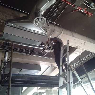 Instalación fan coil
