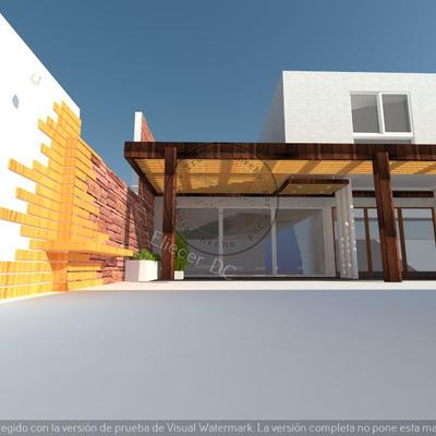 diseño cobertizos + corta vista