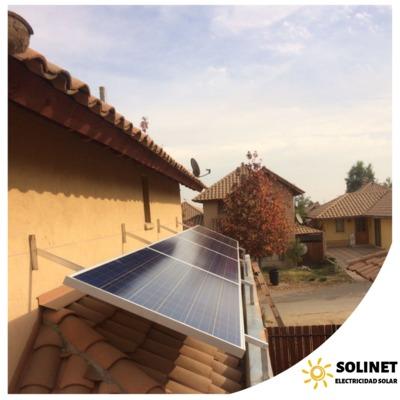 Proyecto realizado en Calera de Tango por Solinet Electricidad Solar.☀️