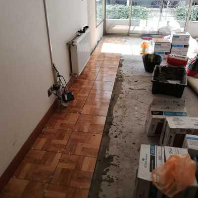 Colocación de piso cerámico