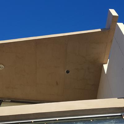 Detalle fachada casa CRD