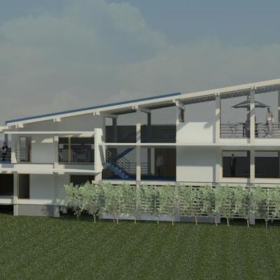 Casa en borde de Laguna Aculeo