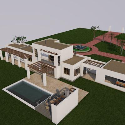 Casa Mediterranea en el Lago Rapel