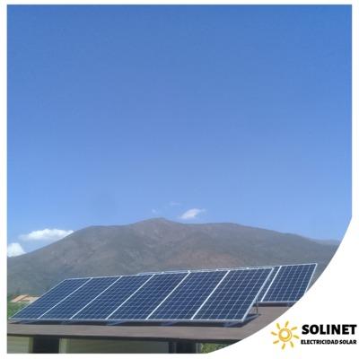 Proyecto realizado en Olmué por Solinet Electricidad Solar ☀️