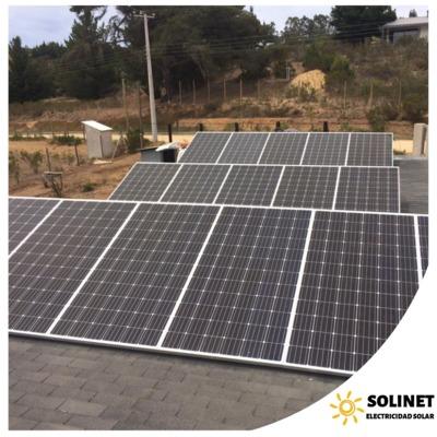 Proyecto realizado en Algarrobo por Solinet Electricidad Solar ☀️