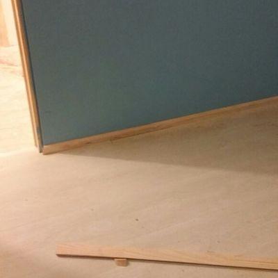 Instalación pisos y pintura  dormitorio