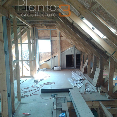 segundo piso en construccion
