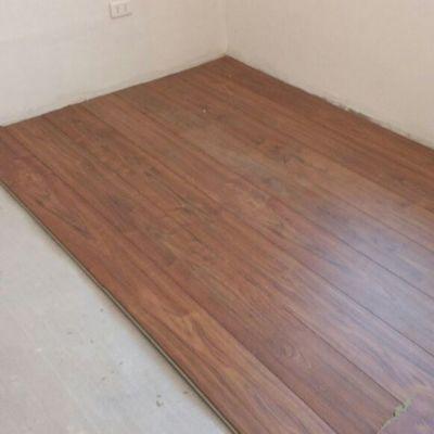 Instalación piso flotante y pintura dormitorio