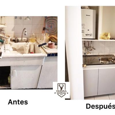 Cambio de lavaplatos