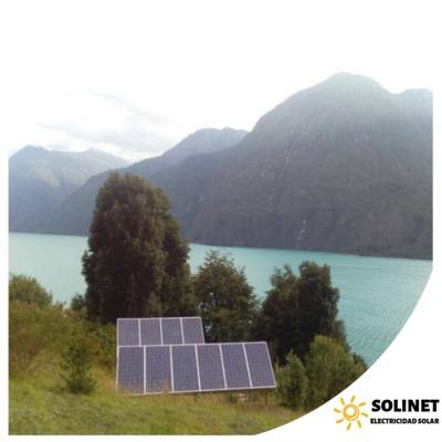 Proyecto realizado en Punitaqui por Solinet Electricidad Solar.☀️