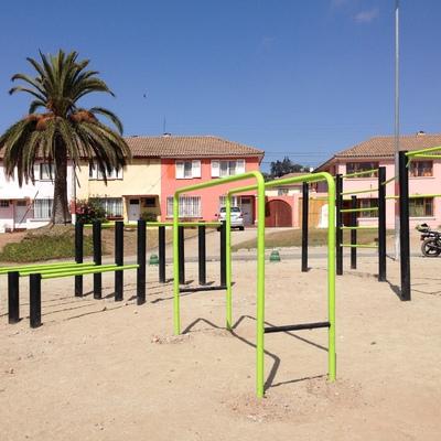 Remodelacion Plaza Deportiva-La Serena