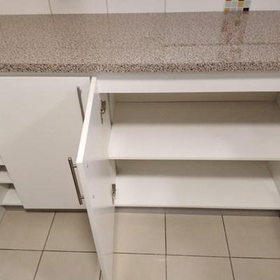 Fabricación de muebles personificados para cocina