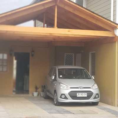 Cobertizo de madera