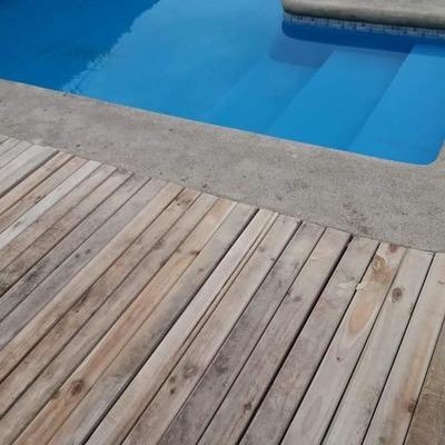 piso de piscina