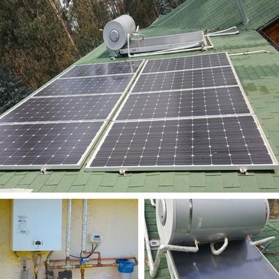 Proyecto solar térmico y fotovoltaico