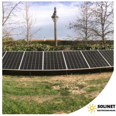Proyecto realizado en Buin por Solinet Electricidad Solar.☀️