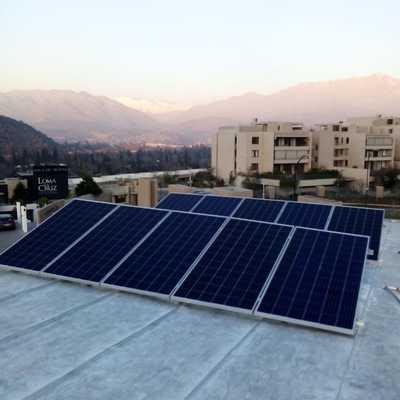 Sistema fotovoltaico Lo Barnechea