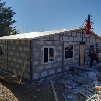 Casa ya casi terminada
