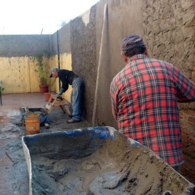 Albañilería construcción muros