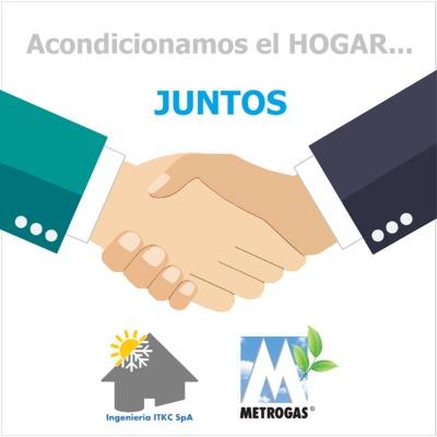 Somos empresa colaboradora de Metrogas
