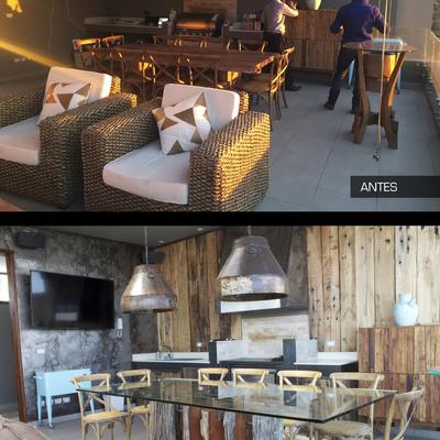 Proyecto renovación terraza quincho departamento duplex JMB - Quinchamali.