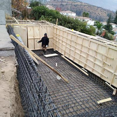 Construcción Piscina San Carlos de Apoquindo