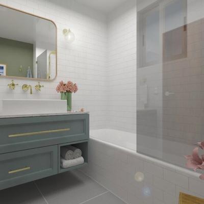 Diseño y Construcción de Baño en una casa