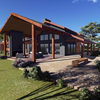 Presupuesto construir casa campo online habitissimo for Parrilla casa de campo