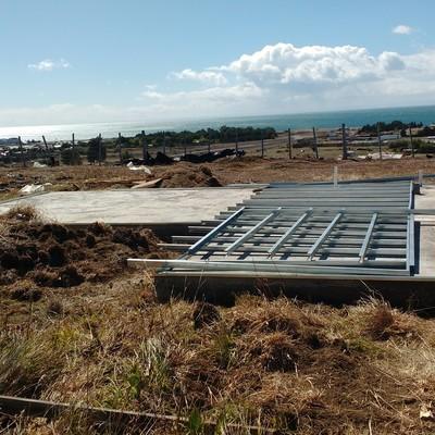 Cabaña Prefabricada 36m2 Parcela Leña Dura