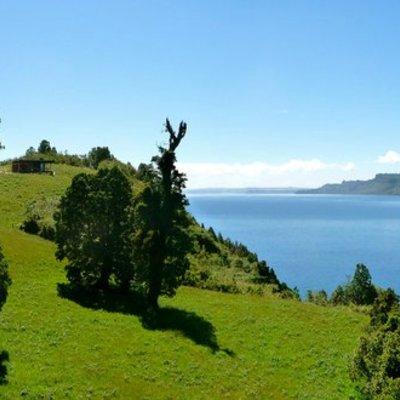 Cabaña-Mirador en el lago Rupanco