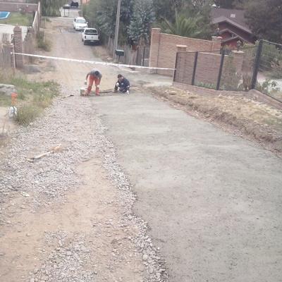 Pavimentación de Camino